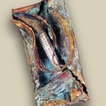 Bronze Petina Freedom Mezuzah