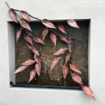 Copper Leaf Wall Fountain